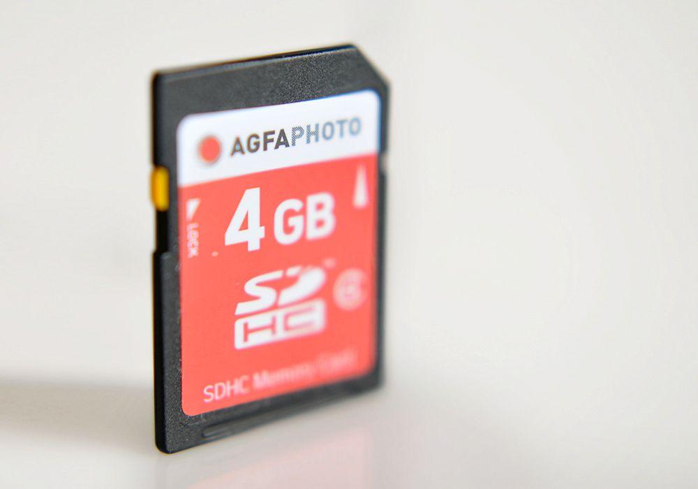 AGFA SD 2 - Tarjetas de memoria