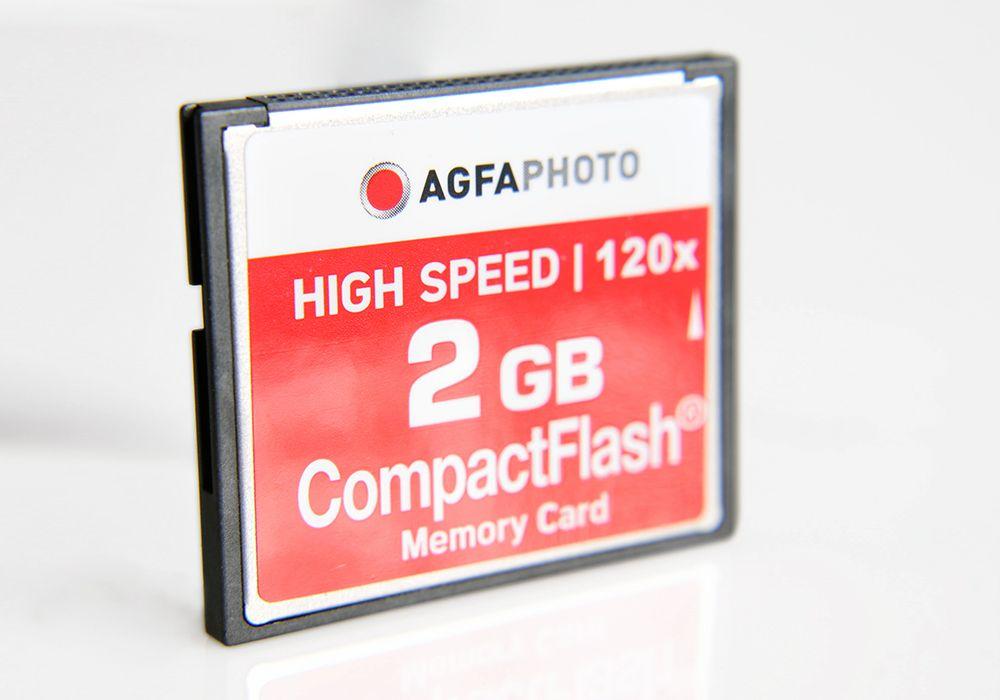 AGFA SD 4 - Tarjetas de memoria