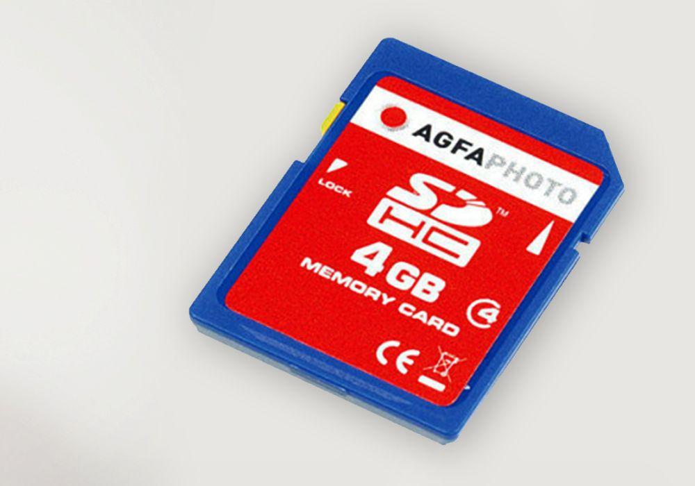 AGFA SD 8 - Tarjetas de memoria
