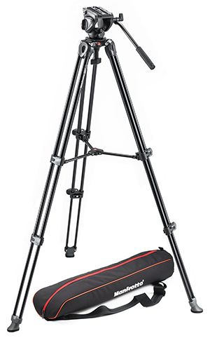 MVK500AM - Oferta kit trípode de vídeo Manfrotto MVK500AM