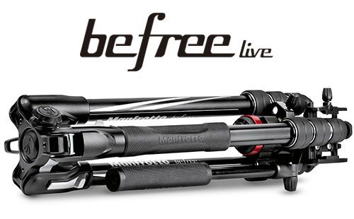 BF LIVE ALUM - Manfrotto Befree Live Twistlock