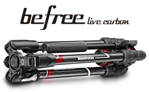 BF LIVE CARB - Manfrotto Befree Live Twistlock