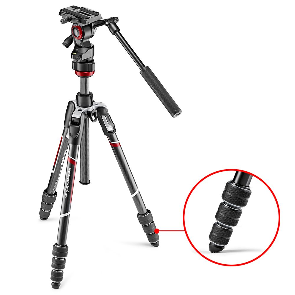 BEFREE LIVE CARBON compressor - Manfrotto Befree Live