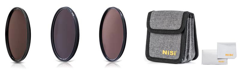 Circular ND Filter Kit include - kits filtros circulares NiSi