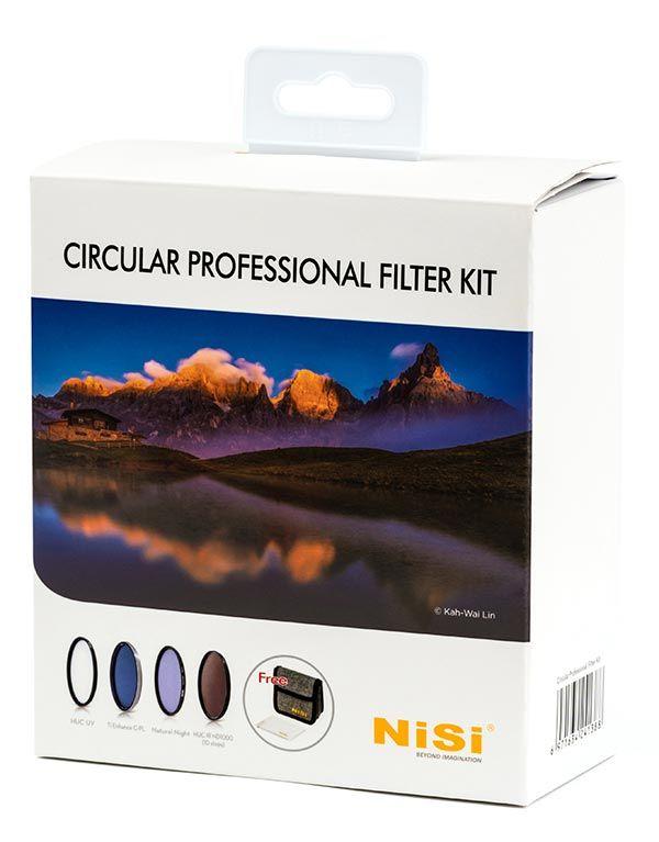 Circular Professional Filter Kit - kits filtros circulares NiSi