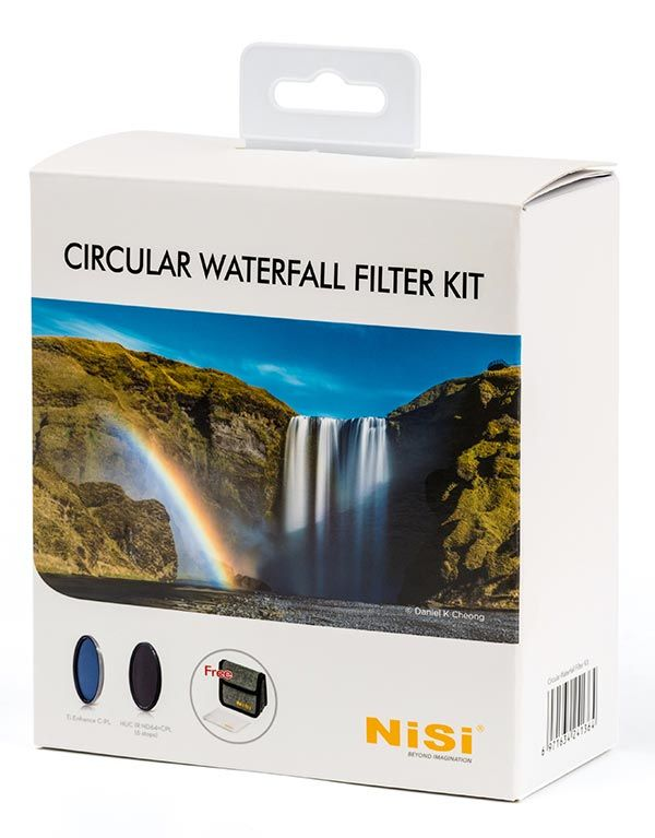 Circular Waterfall Filter Kit - kits filtros circulares NiSi