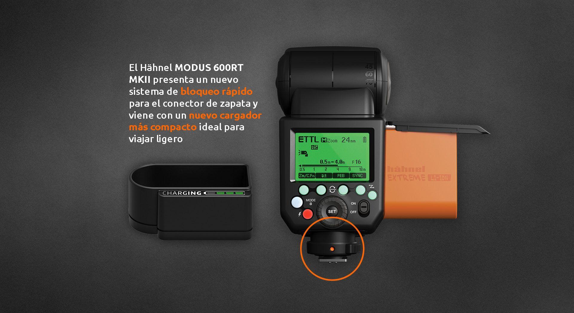 MODUS 600RT MKII NUEVO - Hähnel Modus 600RT MKII