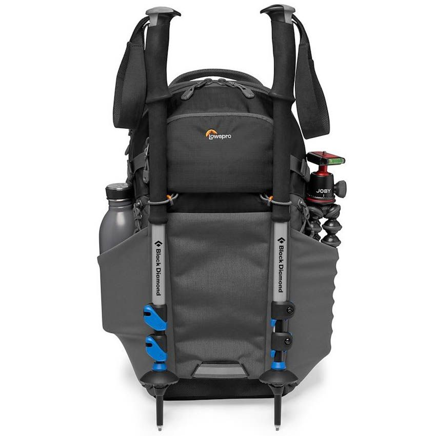 LOWE camera backpack lowepro photo active bp 200 lp37260 pww front pockets stuffed - Lowepro Photo Active