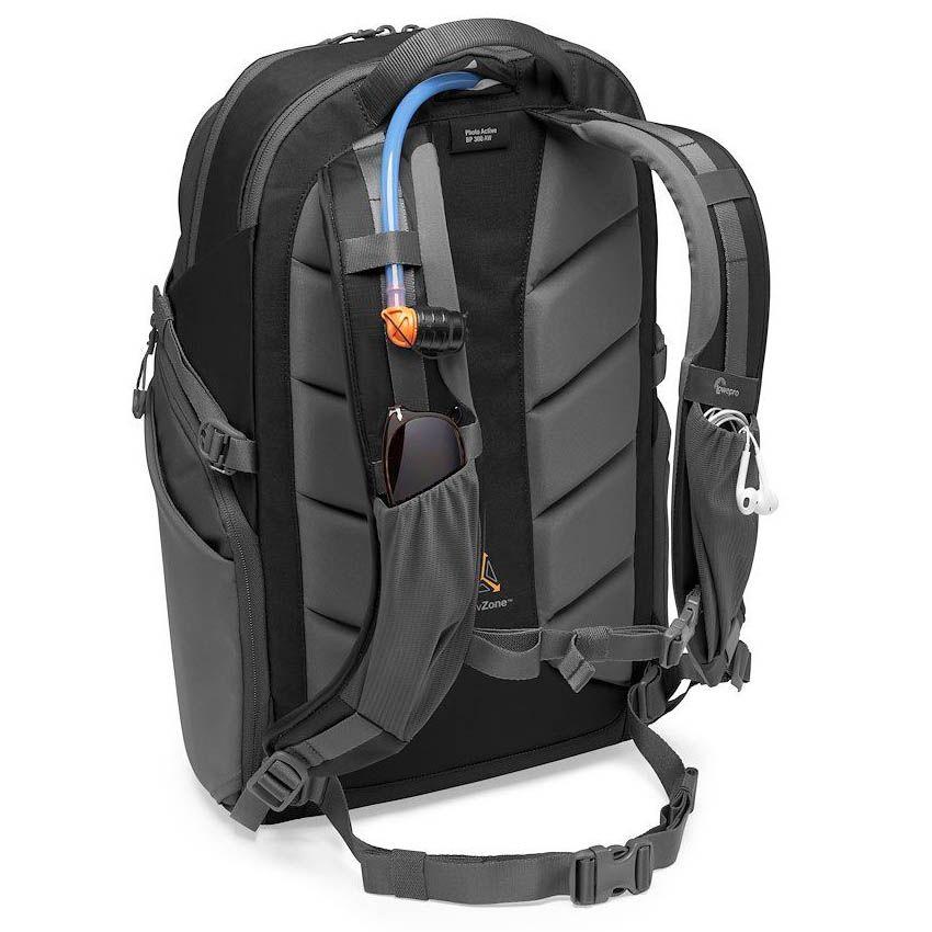 LOWE camera backpack lowepro photo active bp 300 lp37255 pww strap pockets reservoir stuffed - Lowepro Photo Active