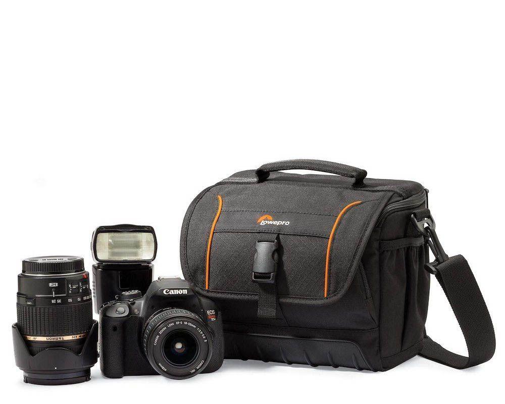 1 camera shoulder bags adventura sh160 left equip lp36862 0ww - Lowepro Adventura