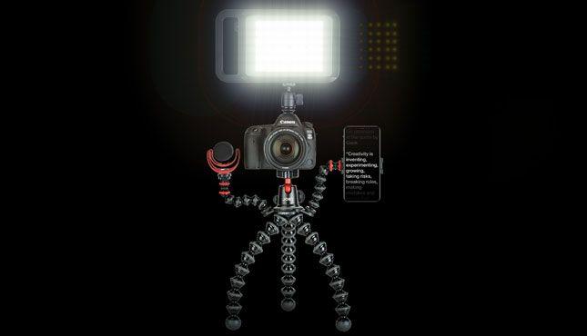 Gorillapod Rig Big LED - Joby GorillaPod Rigs