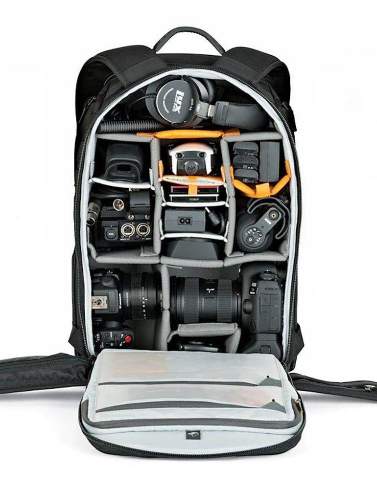 camera backpack protactic bp 450 ii aw lp37177 stuffedc - Lowepro Protactic Series