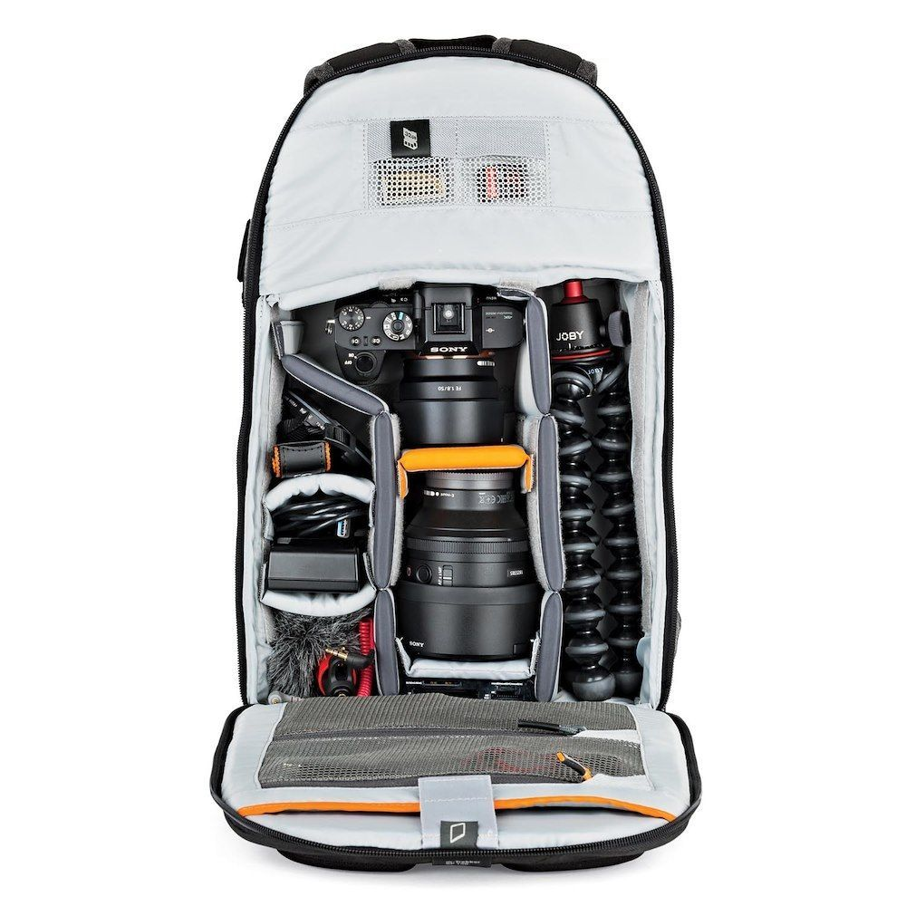 camera backpacks m trekker stuffed sonya7 sq lp37136 config - Lowepro m-Trekker