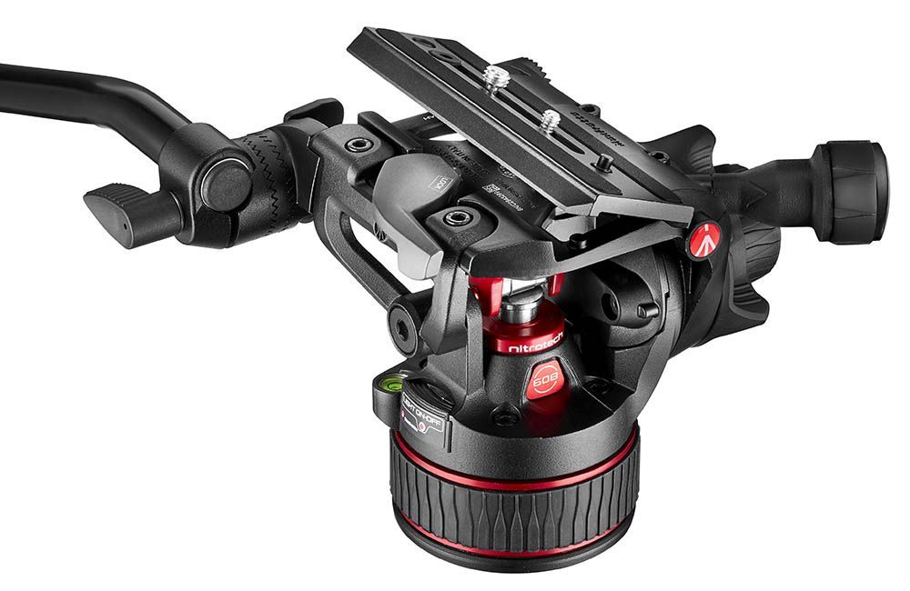 NITROTECH 600 BASE ZAPATA - Manfrotto Nitrotech 608 y 612