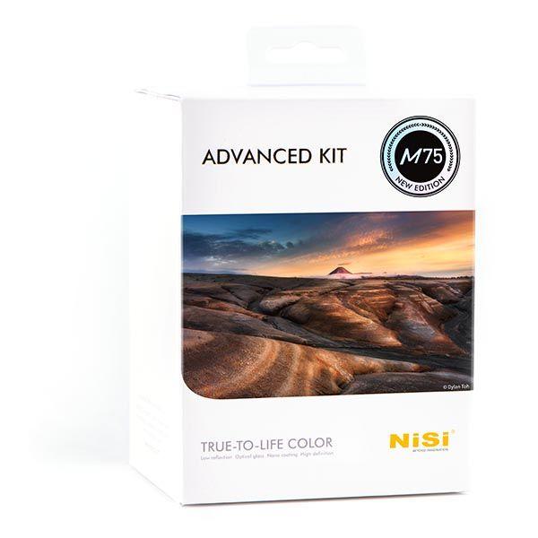 M75 advanced kit - Kits filtros NiSi de 75mm