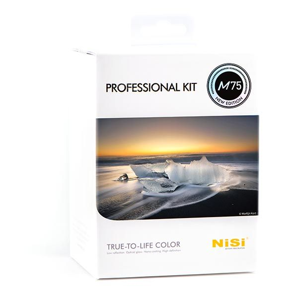 M75 professional kit - Kits filtros NiSi de 75mm